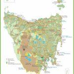 Tasmania Maps | Australia | Maps Of Tasmania (Tas)   Printable Map Of Tasmania