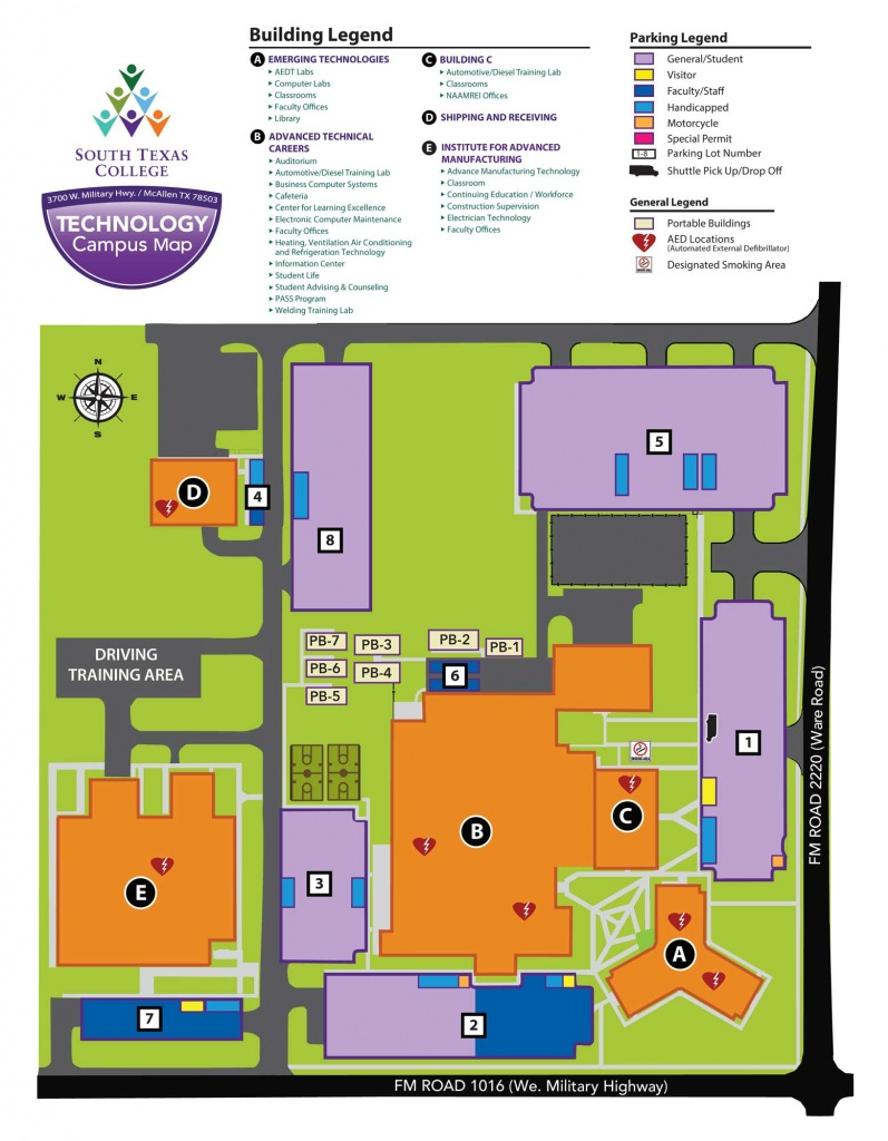 Technology Campus - Mcallen | South Texas College - South Texas College Mid Valley Campus Map