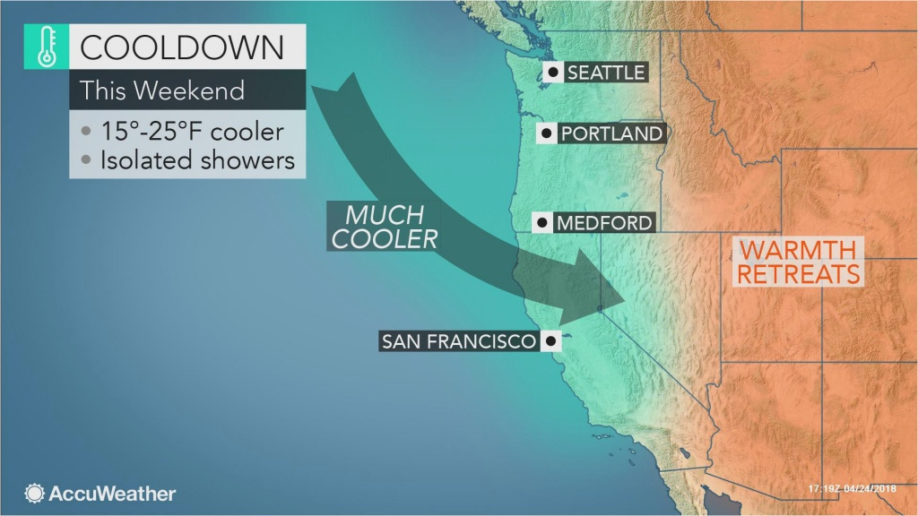 Temperature Map Southern California | Secretmuseum - California Temperature Map Today