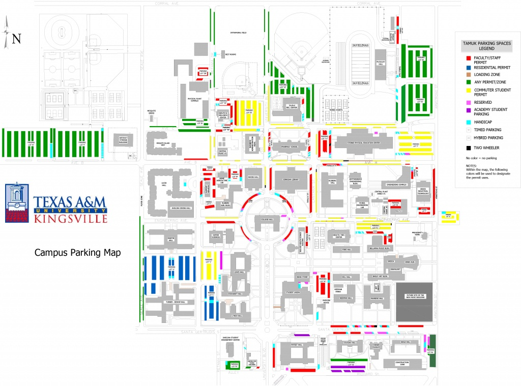 Texas A&m University Kingsville - Texas A&m Map