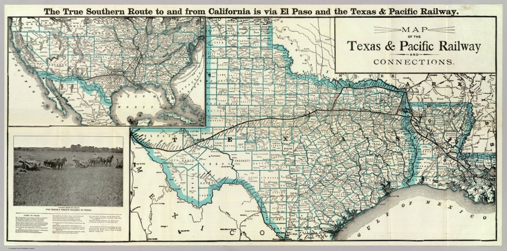 Texas And Pacific Railway | The Handbook Of Texas Online| Texas - Texas State Railroad Route Map