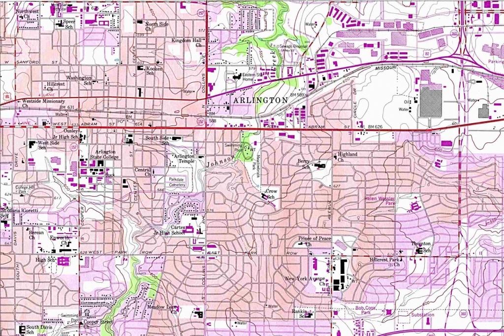 Texas City Maps - Perry-Castañeda Map Collection - Ut Library Online - Google Maps Texas