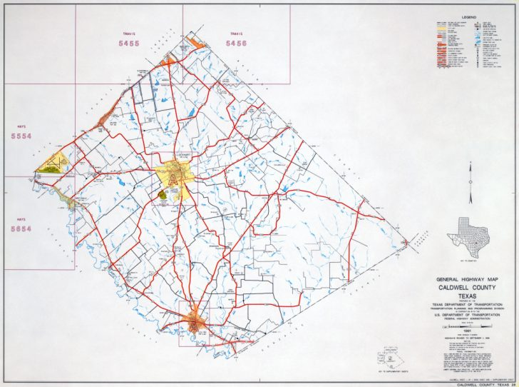 Coryell County Texas Map