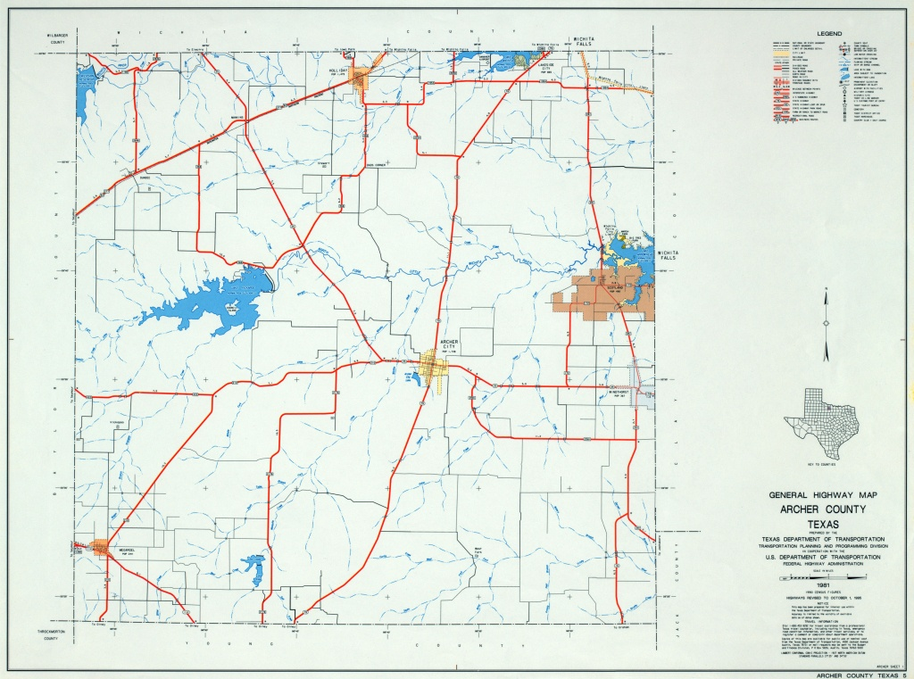 Texas County Highway Maps Browse - Perry-Castañeda Map Collection - Martin County Texas Section Map