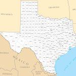 Texas County Map • Mapsof   Texas Lakes Map