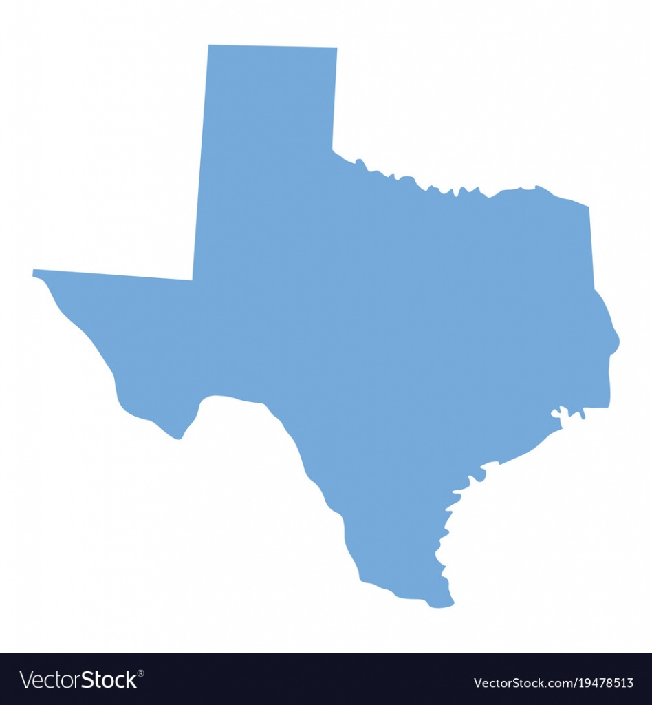 Texas, Detail & Map Vector Images (49) - Texas Map Vector Free