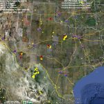 Texas Fire Map 4 24 2011   Wildfire Today   Texas Fire Map