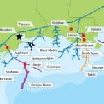 Texas Gulf Oil Rig Map | Gulf Of Mexico Oil Fields Map | $$ Texas   Map Of Drilling Rigs In Texas