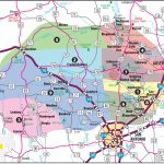 Texas Hill Country Map With Cities & Regions · Hill Country Visitor   Map Of Central Texas Cities
