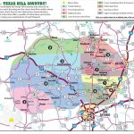 Texas Hill Country Map With Cities & Regions · Hill Country Visitor   Utopia Texas Map