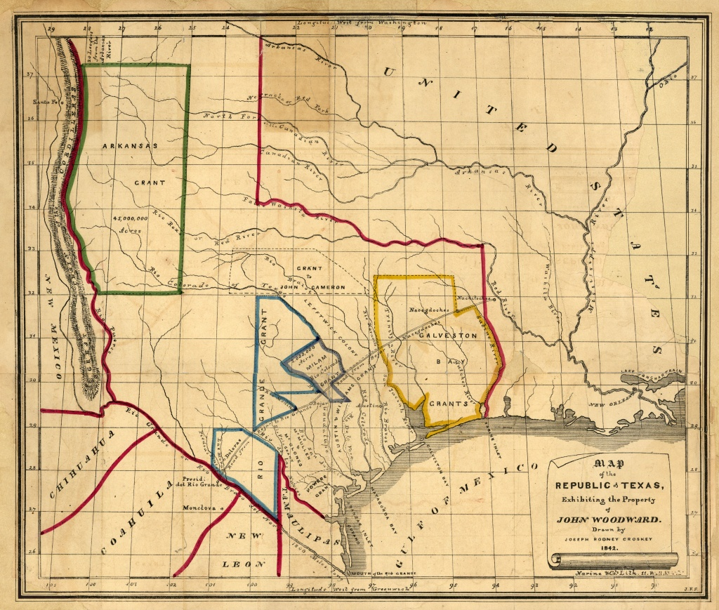 Texas Historical Maps - Perry-Castañeda Map Collection - Ut Library - Texas Historical Sites Map