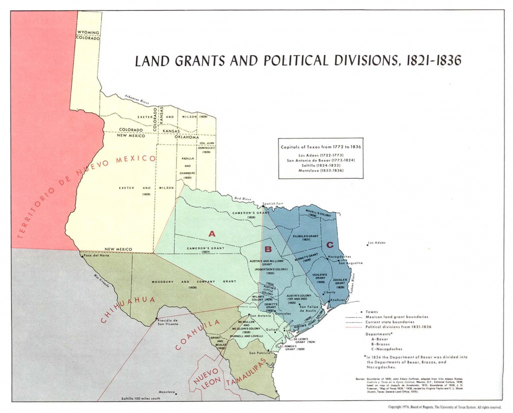 Texas Historical Maps - Perry-Castañeda Map Collection - Ut Library - Texas Property Lines Map