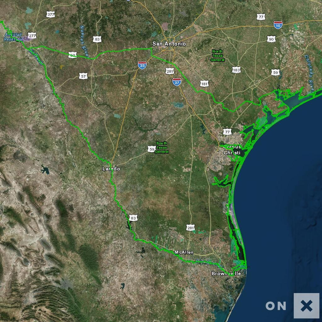 Texas Hunt Zone South Texas General Whitetail Deer - Texas Hunting Zones Map