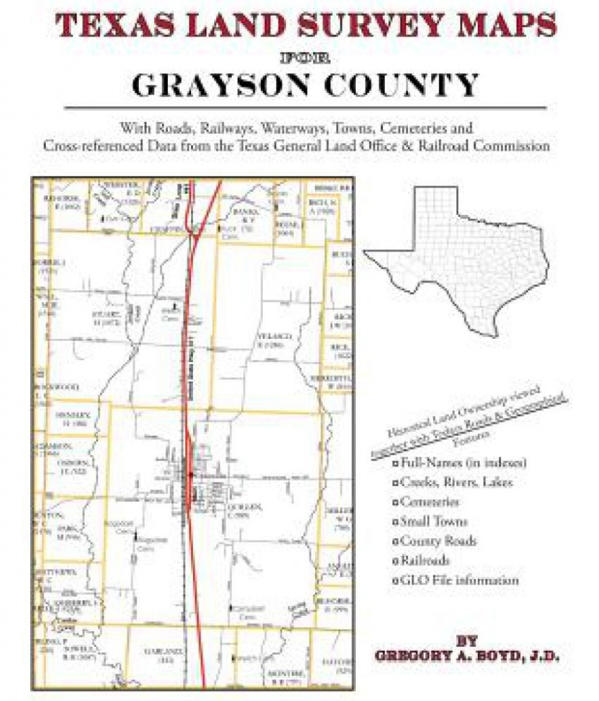 Texas Land Survey Maps For Grayson County: Buy Texas Land Survey - Texas Land Survey Maps Online