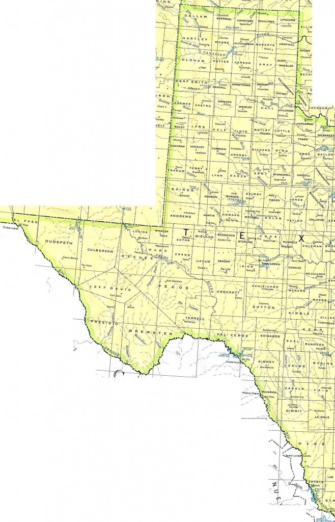Interactive Map Of Texas