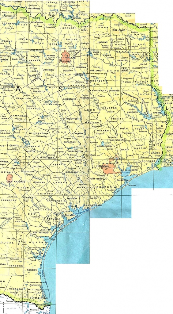 Texas Maps - Perry-Castañeda Map Collection - Ut Library Online - Map Coastal Texas