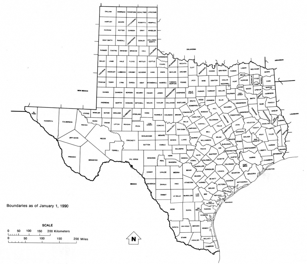Texas Maps - Perry-Castañeda Map Collection - Ut Library Online - Printable Map Of Texas With Cities