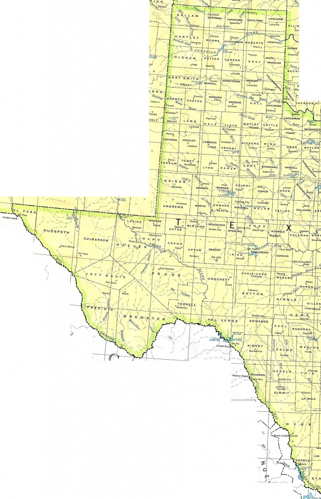 Texas Maps - Perry-Castañeda Map Collection - Ut Library Online - Texas County Wall Map