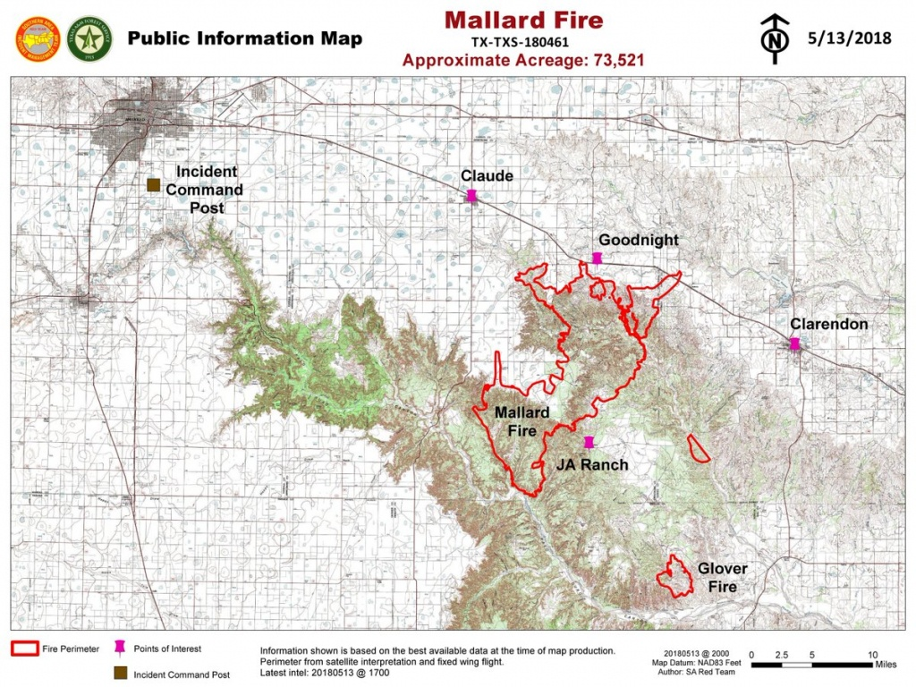 Texas Panhandle Wildfire Burns 74,000-Acres | Drovers - Texas Fire Map