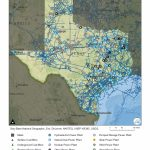 Texas Profile   Power Plants In Texas Map
