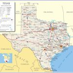 Texas Road Map With Cities And Travel Information | Download Free   Free Texas Highway Map