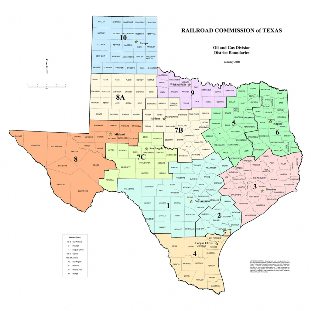 Texas Rrc - Special Map Products Available For Purchase - Map Of Texas Oil And Gas Fields