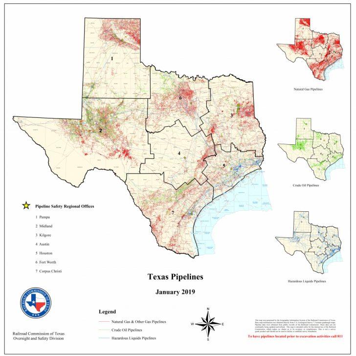 Texas Pipeline Map