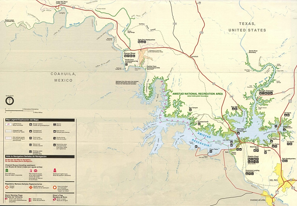 Texas State And National Park Maps - Perry-Castañeda Map Collection - Texas State Campgrounds Map