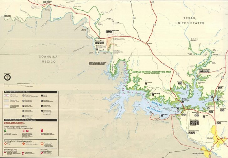 Texas State Parks Camping Map