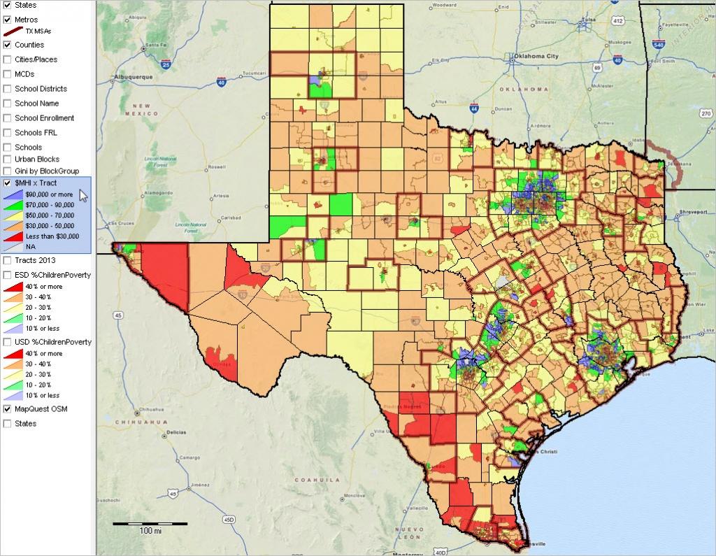 Texas State Gis Project - Texas Gis Map