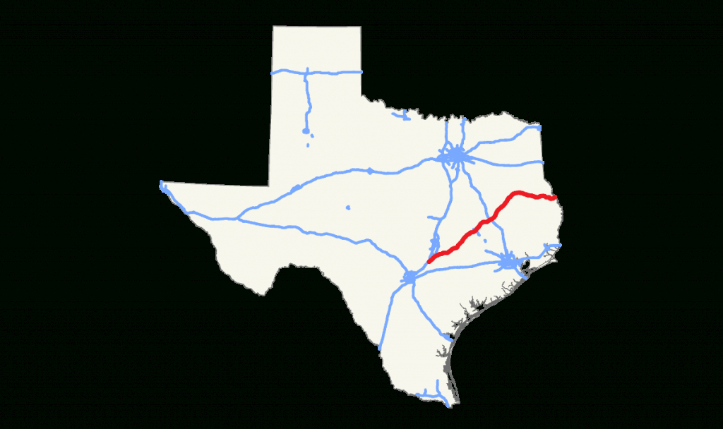 Texas State Highway 21 - Wikipedia - Porter Texas Map