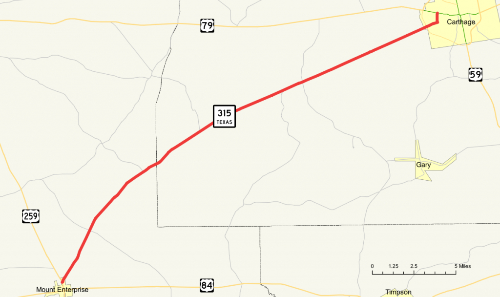Texas State Highway 315 - Wikipedia - Texas Farm To Market Roads Map