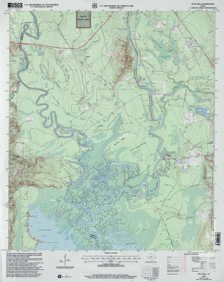 Interactive Elevation Map Of Texas