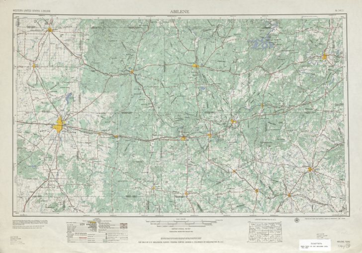 Topographical Map Of Texas Hill Country