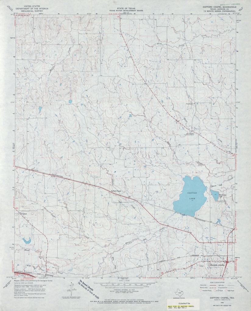 Texas Topographic Maps - Perry-Castañeda Map Collection - Ut Library - Trinity County Texas Map