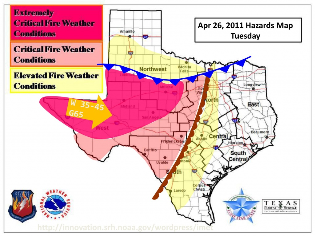 Texas Weather Map Today | Woestenhoeve - Texas Fire Map