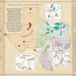 Texas Wine Country Map  Texas Has Eight Officially Recognized   Fredericksburg Texas Winery Map