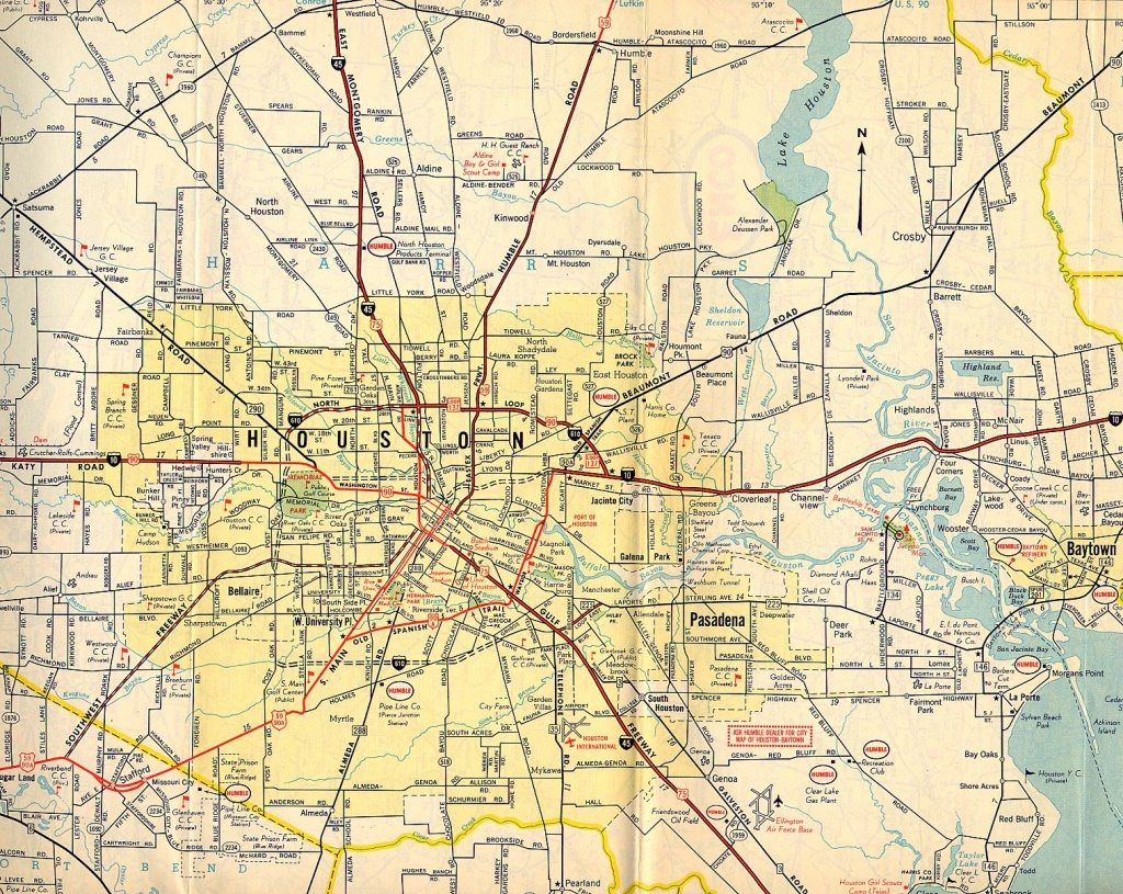 Texasfreeway > Houston > Historical Information > Old Road Maps - Texas Highway Construction Map
