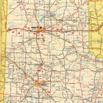 Texasfreeway > Statewide > Historic Information > Old Road Maps - Texas Panhandle Road Map