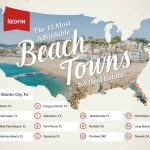 The 15 Most Affordable Beach Towns To Buy A Vacation Home   Redfin   Map Of Florida East Coast Beach Towns