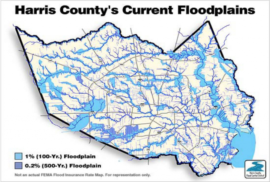 "The ""500-Year"" Flood, Explained: Why Houston Was So Underprepared - Houston Texas Floodplain Map"