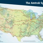 The Amtrak System Map : Mapporn - Amtrak Florida Map