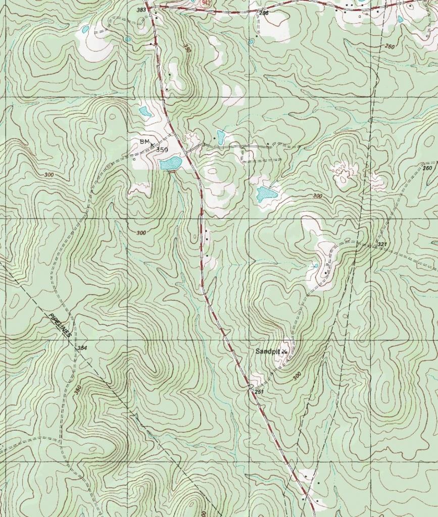 The Barefoot Peckerwood: Free Printable Topo Maps - Printable Topo Maps