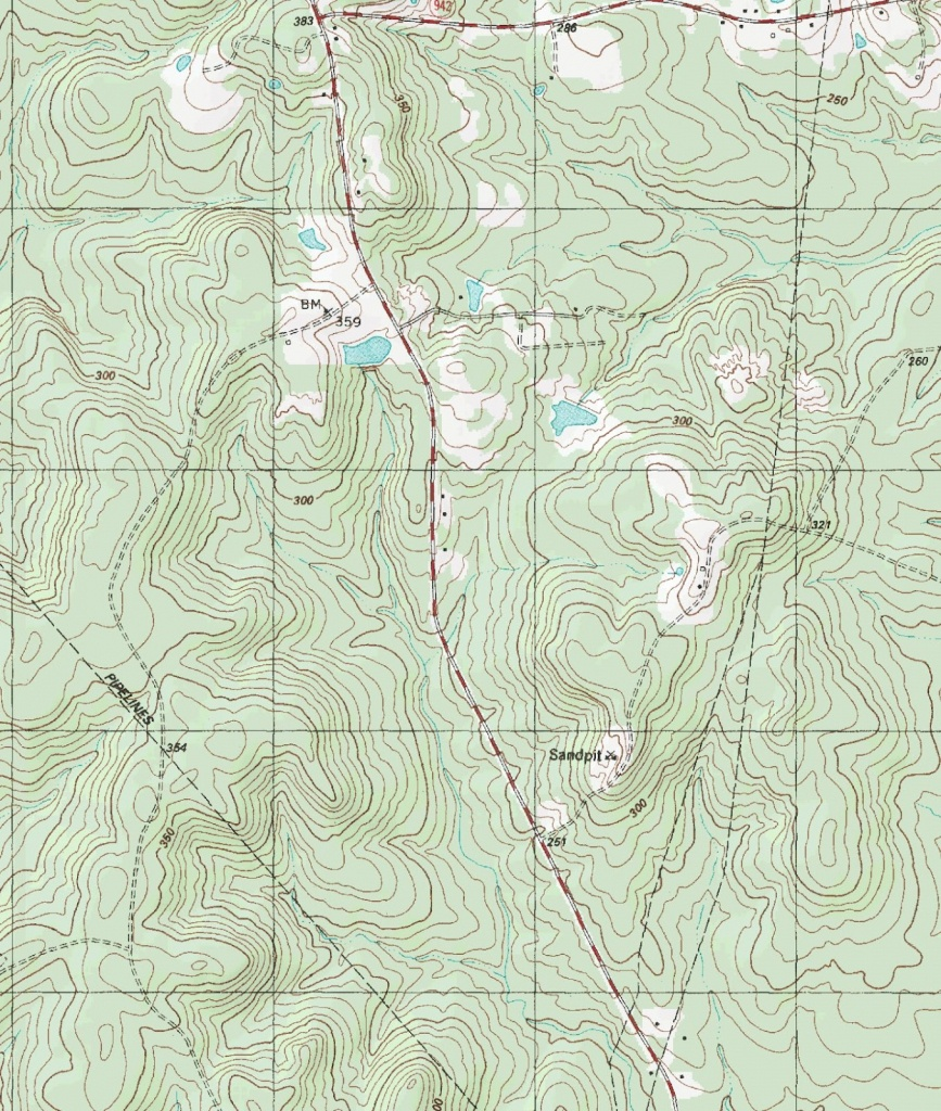 The Barefoot Peckerwood: Free Printable Topo Maps - Printable Topographic Maps