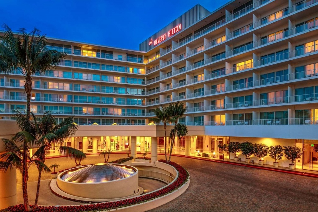 The Beverly Hilton - Updated 2019 Prices & Hotel Reviews (Beverly - Map Of Hilton Hotels In California