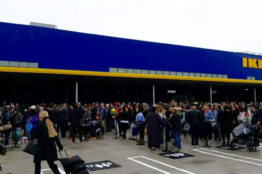The Biggest Ikea In The U.s. Is Now Open In Burbank - Curbed La - Ikea Locations California Map
