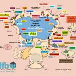 The Disney Food Blog Exclusive 2019 Epcot Food And Wine Festival Map   Printable Map Of Epcot 2015
