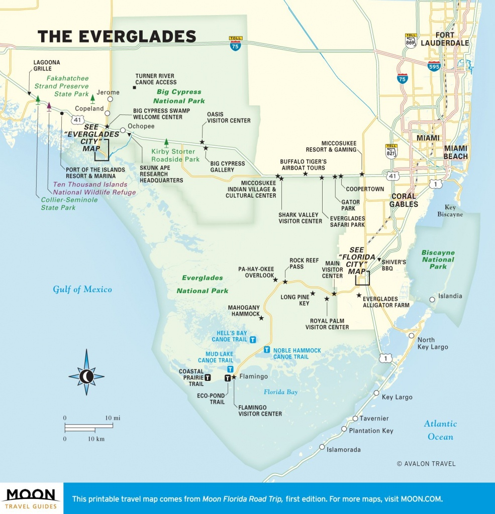 The Everglades In Two Days | Itineraries For Travel Planning - Florida Everglades Map
