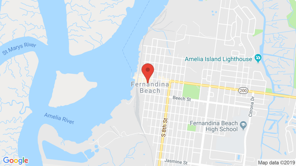 The Florida House Inn In Amelia Island, Fl - Concerts, Tickets, Map - Florida Map Directions