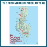 The Fred Marquis Pinellas Trail Bike Trail Tampa Bay University   Pinellas Trail Map Florida